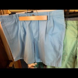 NEW WITH TAG CHAPS SZ 38 MENS SHORTS TWILL CHINO